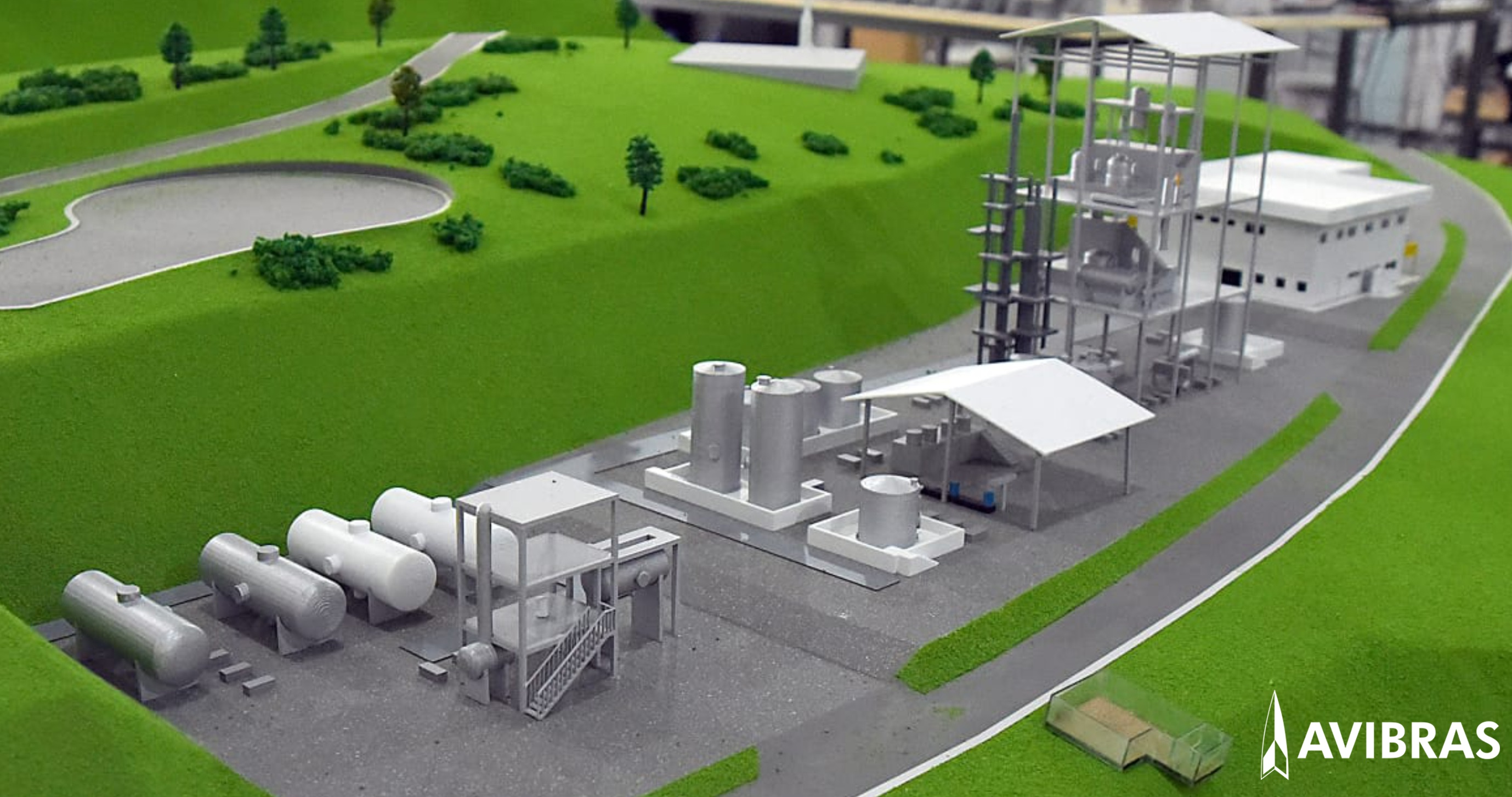 Avibras new industrial facility in Lorena (SP) will produce raw material for solid fuel of the Brazilian Space Program