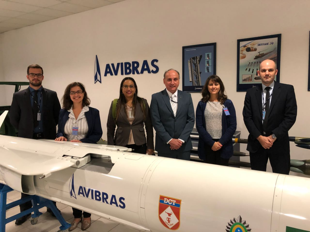 Space Program: Avibras visited by AEB delegation